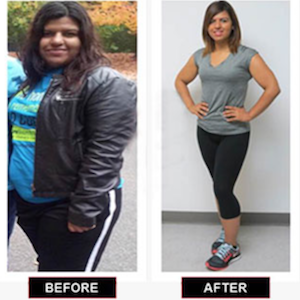Marialena Lost Over 80 Pounds!